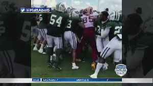 Jets, Redskins Brawl In Practice [Video]