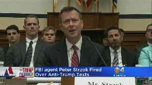 Peter Strzok Fired From FBI [Video]