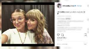Millie Bobby Brown Becomes BESTIES With Taylor Swift Backstage at Concert [Video]