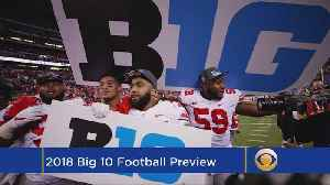 Big Ten Football Preview [Video]
