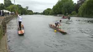 'Kit' take a punt in English river race [Video]