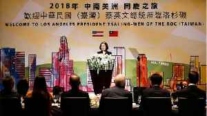 Taiwan's President Asserts Independence Before US Visit [Video]