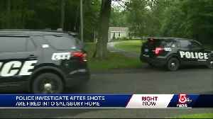 Bullets fly into Salisbury home during late night shooting that woke the neighborhood [Video]