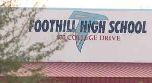 Foothill High School student arrested on Sunday for terroristic threats [Video]