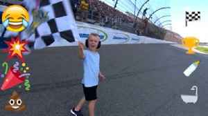 Motte's Minute: DeLana Harvick uses emojis to paint a colorful picture of Kevin's Michigan win [Video]