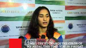 I Will Try To Change The Color Of My Medal This Time- Vinesh Phogat [Video]