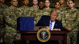 Trump signs defense spending bill; campaigns for Congressional candidate in upstate N.Y. [Video]