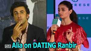 Alia on DATING and working with Ranbir in 'Brahmastra' [Video]