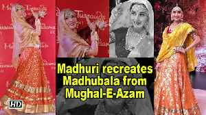 Madhuri Dixit recreates Madhubala's SONG from Mughal-E-Azam [Video]
