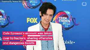 Cole Sprouse's Twitter Account Hacked [Video]