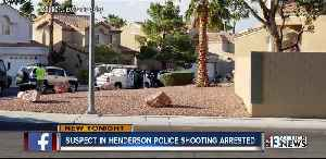 Police arrest suspect who allegedly injured Henderson officers [Video]