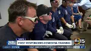 First responders getting training to better care for those with dementia