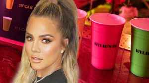 "Khloe Kardashian ""IT'S COMPLICATED"" Cup Explained While Partying w/ Kendall In Mexico! [Video]"