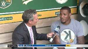 Edwin Jackson: A's Pitcher Who Has Worn Many Hats [Video]
