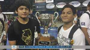 Lopez Brothers Win As Co-Champions Of National Wrestling Tournament [Video]