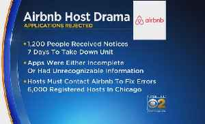 More Than 1,000 Chicago AirBnb Host Registrations Rejected [Video]