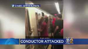 Irate Riders Assault Conductor On Brooklyn Subway [Video]
