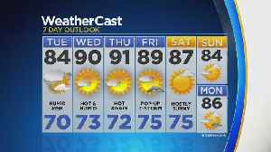 Temps Bounce Into The 90s Come Wednesday [Video]