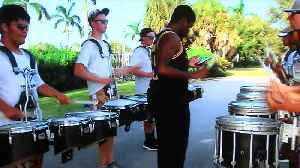 Park Vista marching band trying to get to parade [Video]
