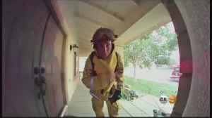 Firefighter's 'House Call' [Video]
