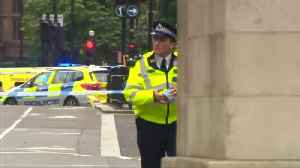 Pedestrians injured after car hits barriers at UK parliament, man arrested [Video]