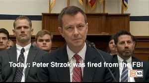Peter Strzok Is Fired And Here's Why [Video]