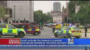 'Terror Incident': Crash Outside Parliament In London Under Investigation [Video]