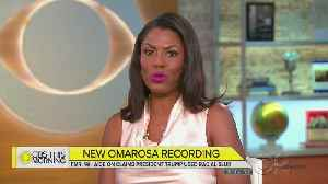 Omarosa Says She Taped Trump Aides 'Because The Truth Matters'