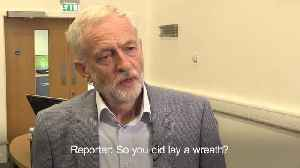 Corbyn refuses to apologise over Palestinian wreath laying [Video]
