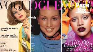 The history of black women gracing the cover of fashion mags [Video]