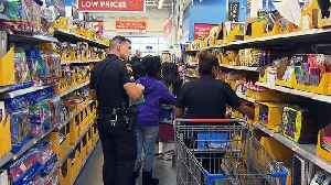 Grand Prairie Students 'Shop With A Cop' For School Supplies [Video]