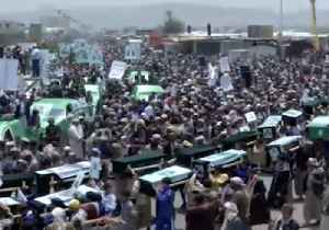 Funeral Parade Carries Coffins of Children Killed in Bus Attack [Video]