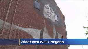 'Wide Open Walls' Murals In Oak Park [Video]