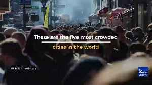 The Most Crowded Cities in the World [Video]