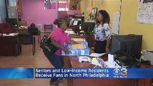 Seniors, Low-Income Residents Receive Fans In North Philly [Video]