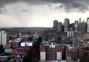 Timelapse Shows Storm Clouds Rolling Over Downtown Manhattan and Brooklyn Heights [Video]