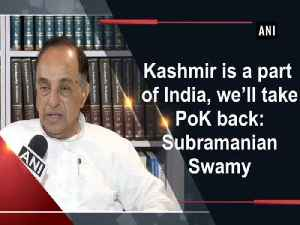 Kashmir is a part of India, we'll take PoK back: Subramanian Swamy [Video]