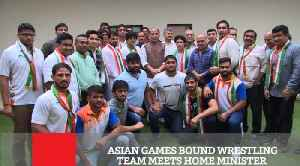 Asian Games Bound Wrestling Team Meets Home Minister [Video]