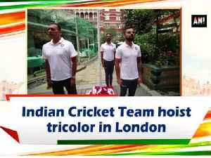 Indian Cricket Team hoist tricolor in London [Video]