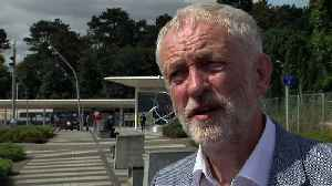 Jeremy Corbyn on attack: Security must be kept under review [Video]