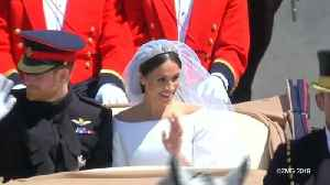 Did Kate Middleton Hand Meghan Markle Her Wedding Bouquet? [Video]