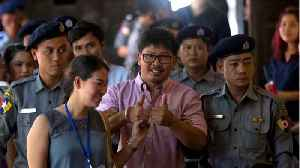 Jailed Reuters Journalist In Myanmar Becomes A Father [Video]