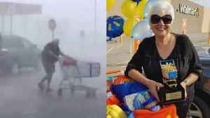 Walmart Honors West Virginia Woman Who Returned Shopping Cart in Storm [Video]