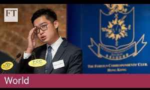 HK independence activist provokes Chinese anger [Video]