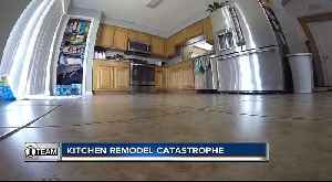 Contractor says he fell on hard times, couldn't refund money for remodel [Video]