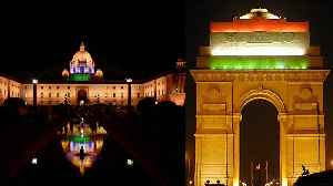 Independence Day : India की Monuments पर दिखा आजाद&#x940 [Video]