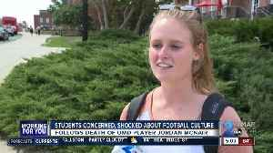 UMD students react to football fall out [Video]