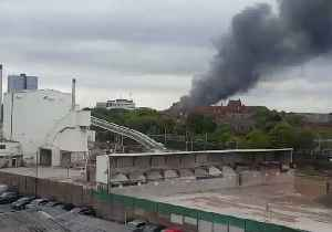 Dozens of Firefighters Called to Salford Recycling Plant Fire [Video]