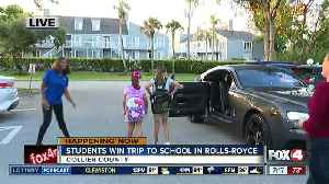 Contest gives two Collier students a trip to school in Rolls-Royce - 7am live report [Video]