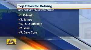 Tampa ranks third among top 10 cities to retire to [Video]